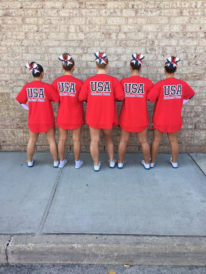 Usa National Dance Team  Gold Medalists  T-Shirt Photo