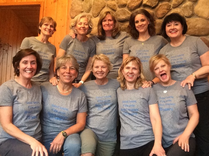 The Best Book Club Ever 25 Year Anniversary T-Shirt Photo