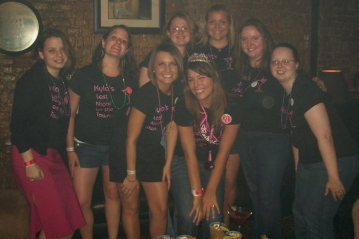 Kyla's Last Night On The Town T-Shirt Photo