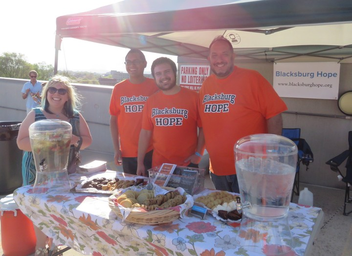Serving Up Hope In Blacksburg T-Shirt Photo