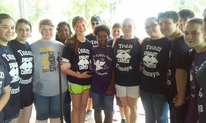 #Team Tiamaya T-Shirt Photo