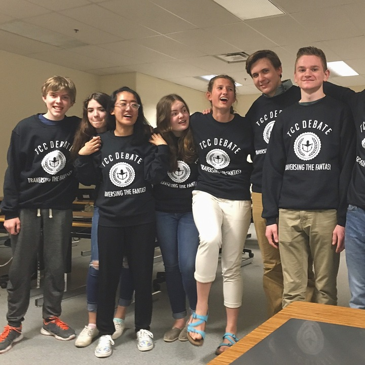 Traverse City Central Debate Team T-Shirt Photo