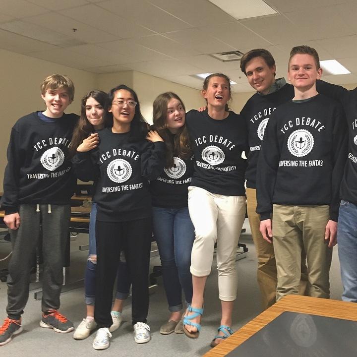 Traverse City Central Debate Team T-Shirt Photo