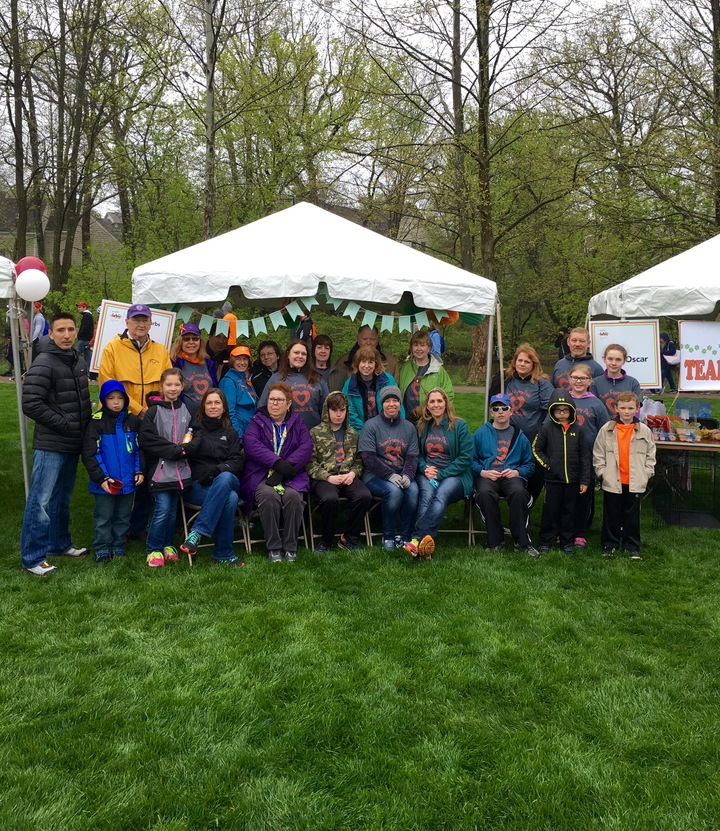 Team Franny Pack @ Walk Ms 2016 T-Shirt Photo
