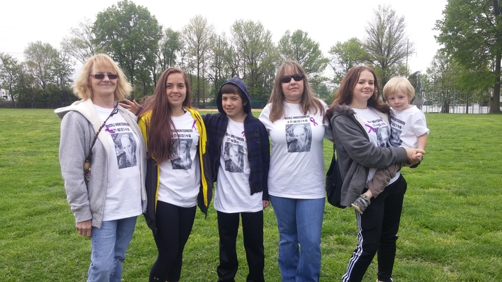 Nikki's Memorial Walk.  Forever 27 T-Shirt Photo