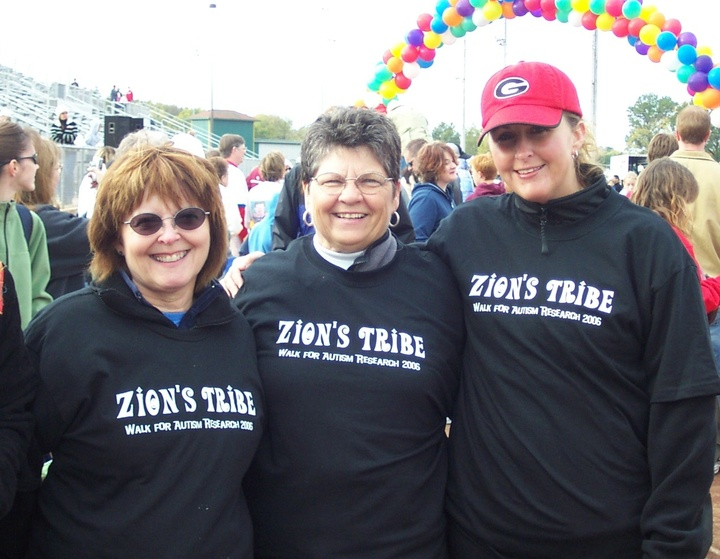Some Team Members Of Zions Tribe: Walk For Autism Research T-Shirt Photo