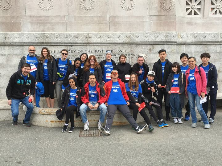 Kaplan International Participates In Boston's Walk For Hunger T-Shirt Photo