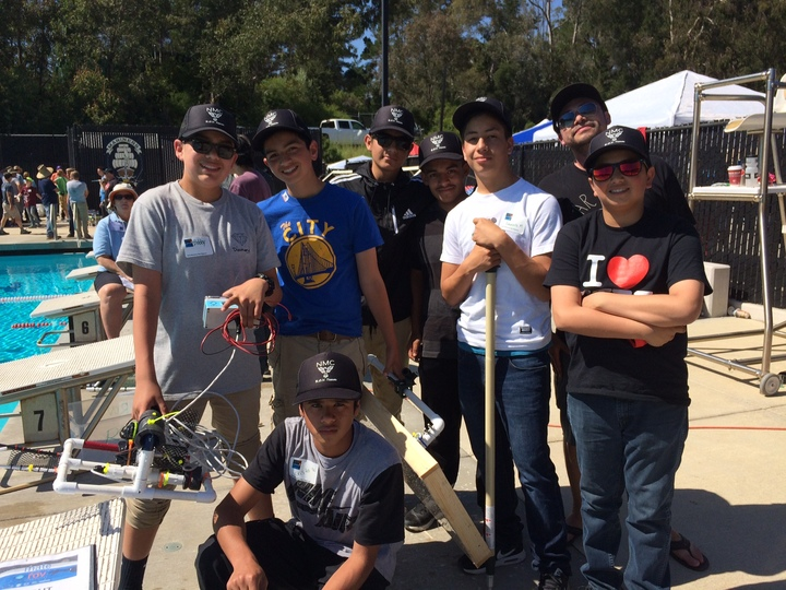 North Monterey County Middle School: Rov Team T-Shirt Photo