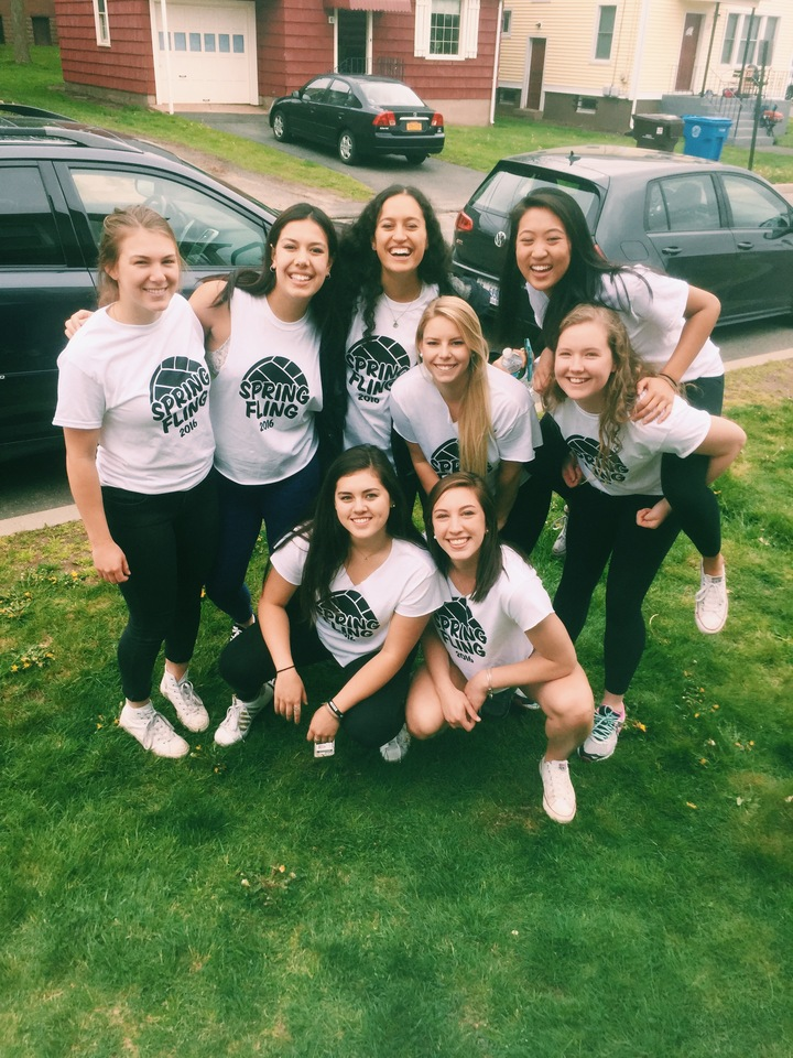 Wesleyan University Volleyball Spring Fling 2016 T-Shirt Photo