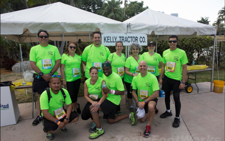 2016 Ktc Corporate Run Team T-Shirt Photo