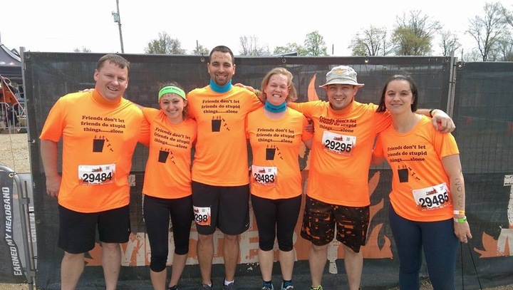 6 Tough Mudders T-Shirt Photo