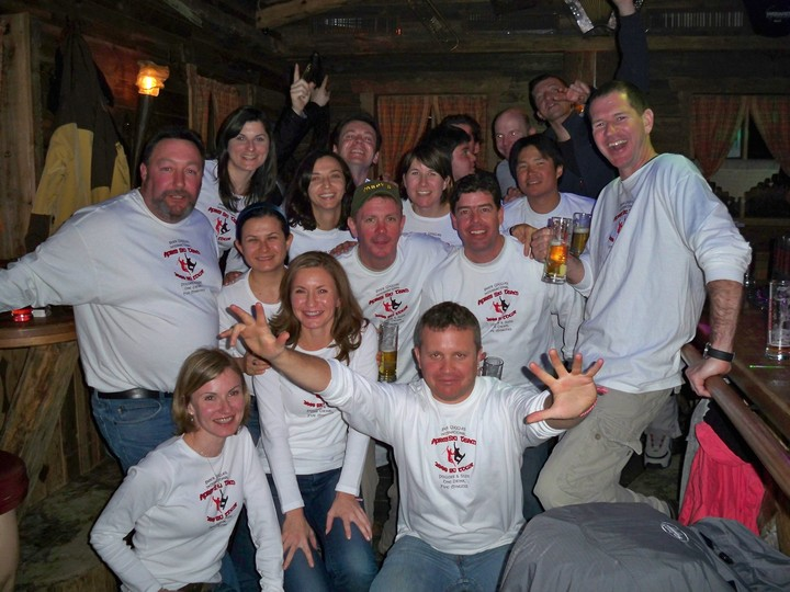 The Beer Goggles Ski Team T-Shirt Photo