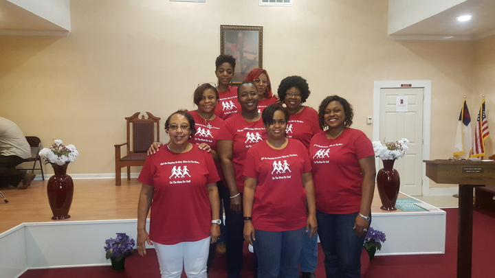 Women On The Move For God T-Shirt Photo