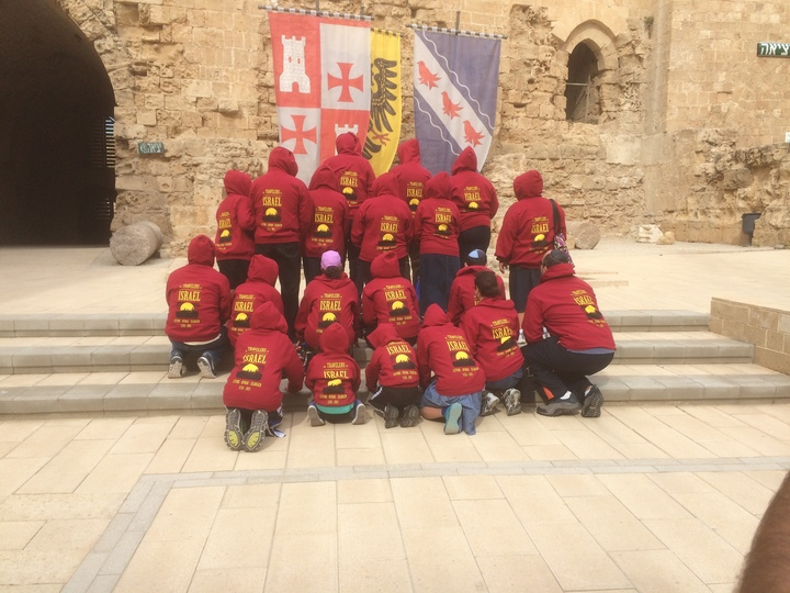 We Traveled To Acre, Israel T-Shirt Photo