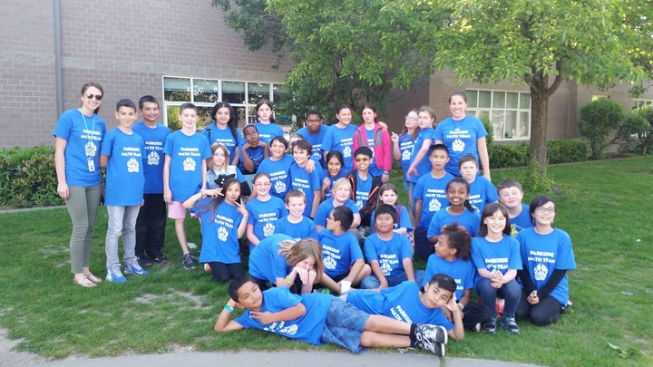 Parkside Mathletes T-Shirt Photo