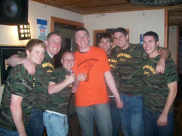 Denny's Bachelor Party T-Shirt Photo