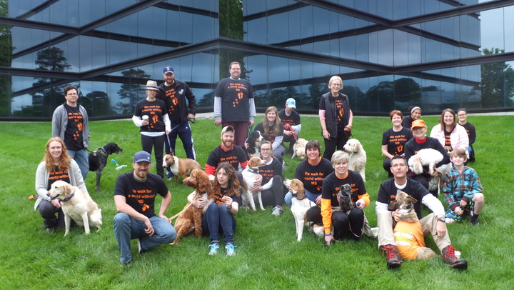 Walk Ms: Richmond Va Team Follow Me Dog Training Llc T-Shirt Photo