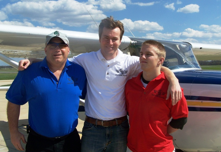 Grayzone Aviation Lesson #1 T-Shirt Photo