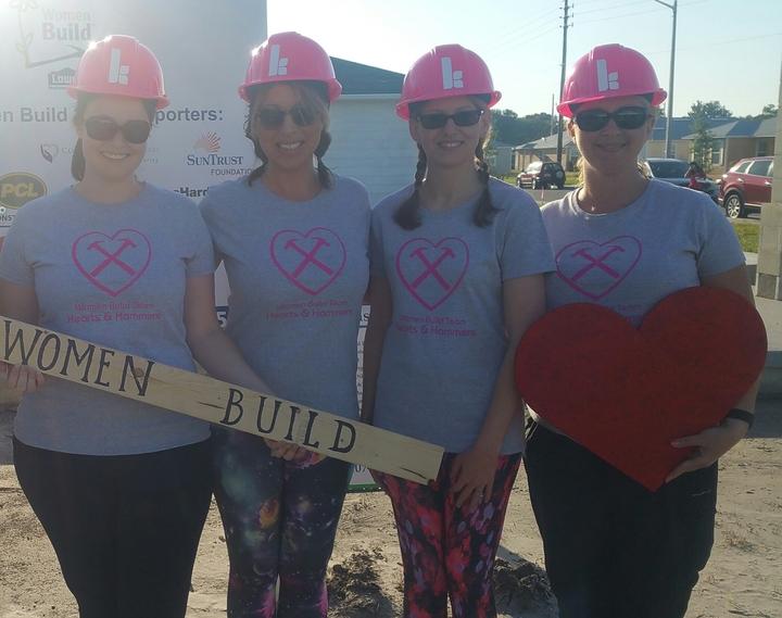 Women Build Day T-Shirt Photo