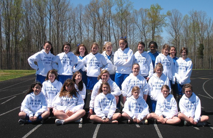 Lady Eagles Soccer Team T-Shirt Photo