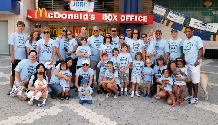 Tony's Troopers 2009 T-Shirt Photo