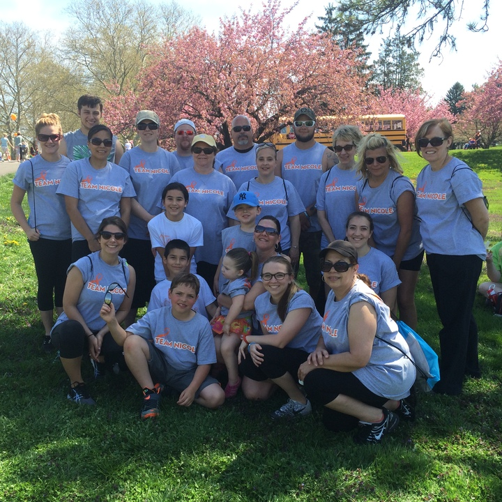 Team Nicole Walking To Find A Cure For Ms! T-Shirt Photo