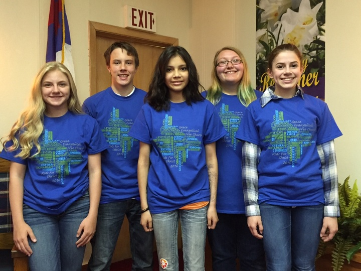 Grace Evangelical Free Church: Jr. High Kfc  T-Shirt Photo