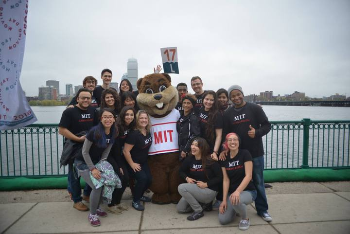 Mit Casino Rueda Participating At The Mit 100 Parade T-Shirt Photo