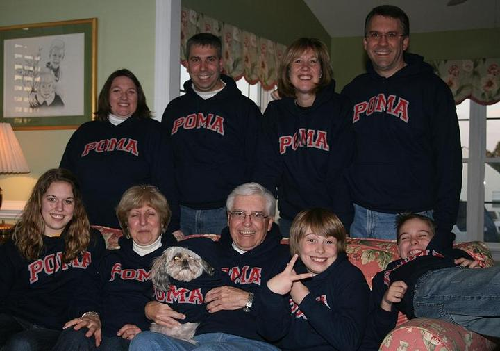 Poma Family Photo T-Shirt Photo