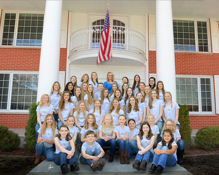 2016 Golden Ridge Stables Youth Equestrian Team T-Shirt Photo
