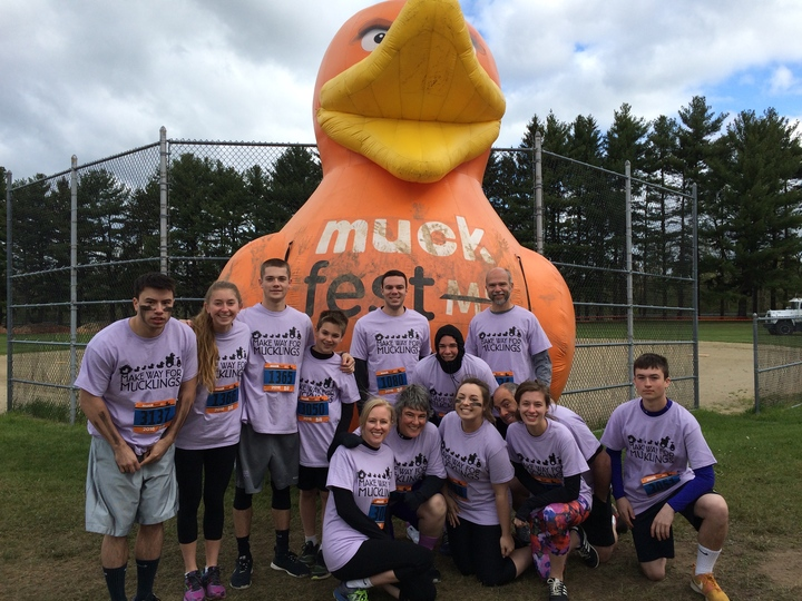 Muckfest Boston 2016 T-Shirt Photo