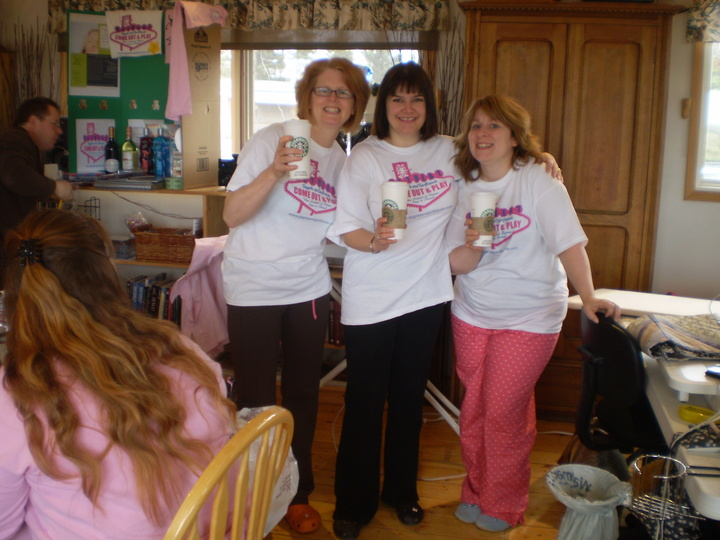 Giggles And Girlfriends Retreats T-Shirt Photo