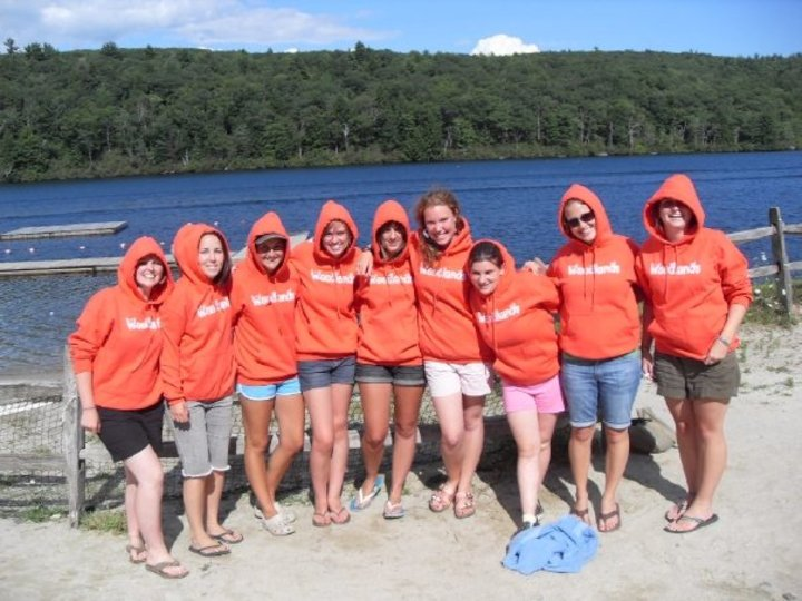 The Woodlands Unit At Camp Hi Rock 2008! T-Shirt Photo