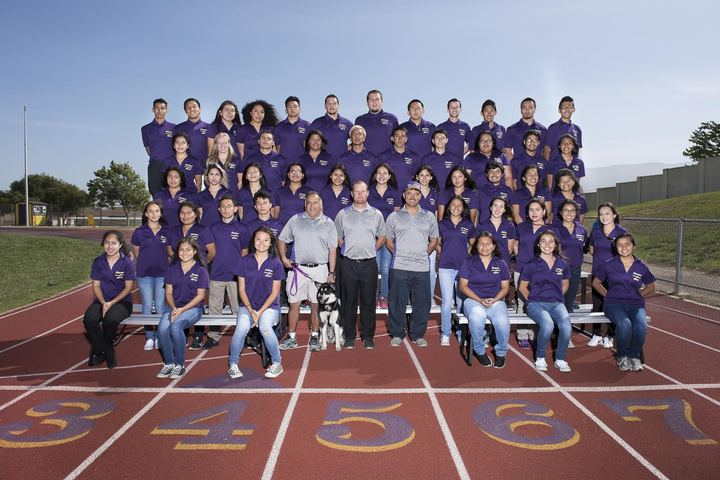 Track And Field Team Photo T-Shirt Photo