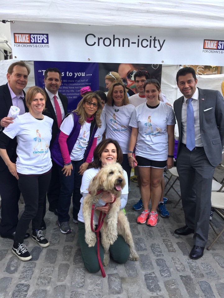 Team Crohn Icity T-Shirt Photo