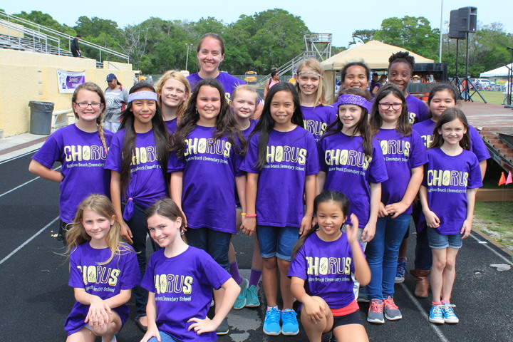 Hutchison Beach Elementary Chorus   Team Jamison T-Shirt Photo