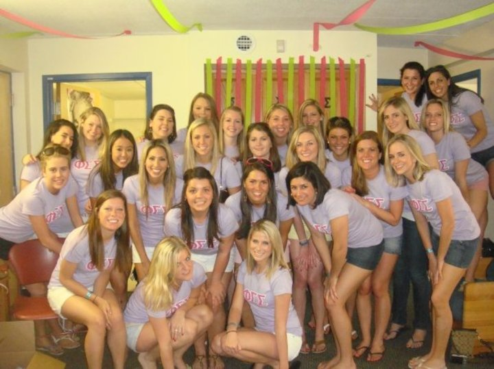 Phi Sig At Bentley! T-Shirt Photo