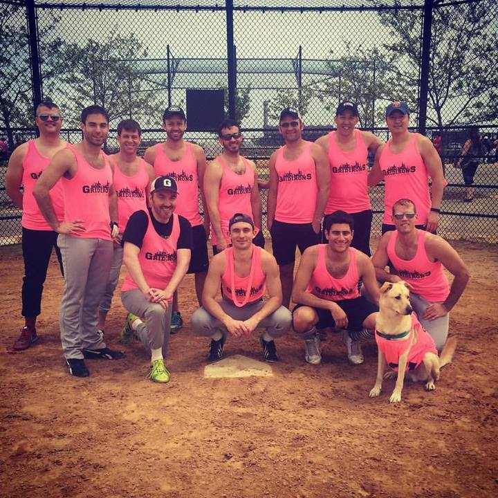 Gridirons Softball T-Shirt Photo