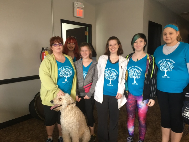 Lung Force Walk Cleveland T-Shirt Photo