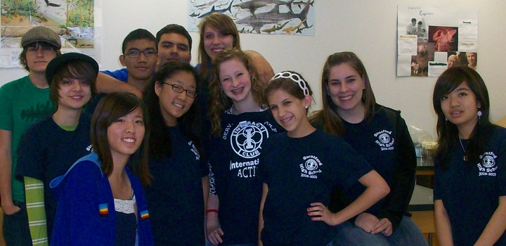Our Interact Club T-Shirt Photo