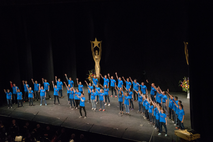 St. Francis Hs Performs At The Kenny Awards T-Shirt Photo