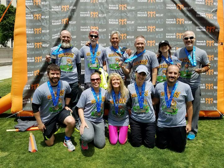 Ragnar Tennessee Finish Line Photo T-Shirt Photo