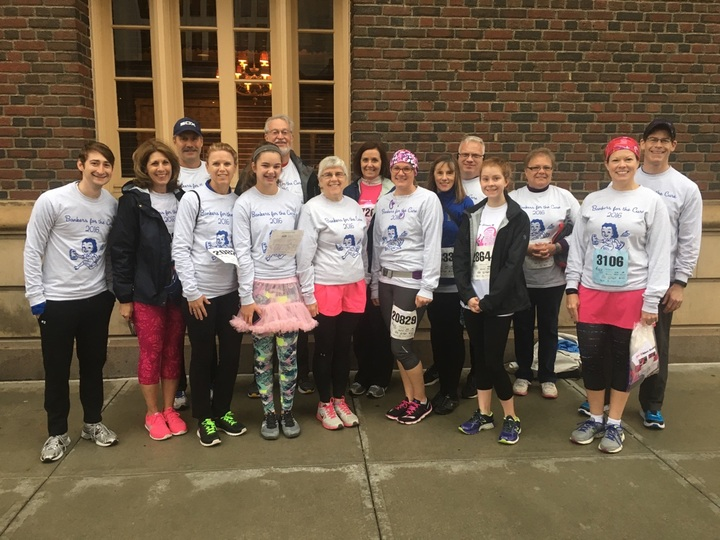 Bankers For The Cure 2016 T-Shirt Photo