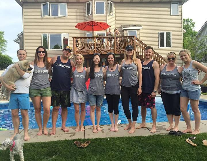 Sparrow Yoga Teacher Trainers 2016 T-Shirt Photo