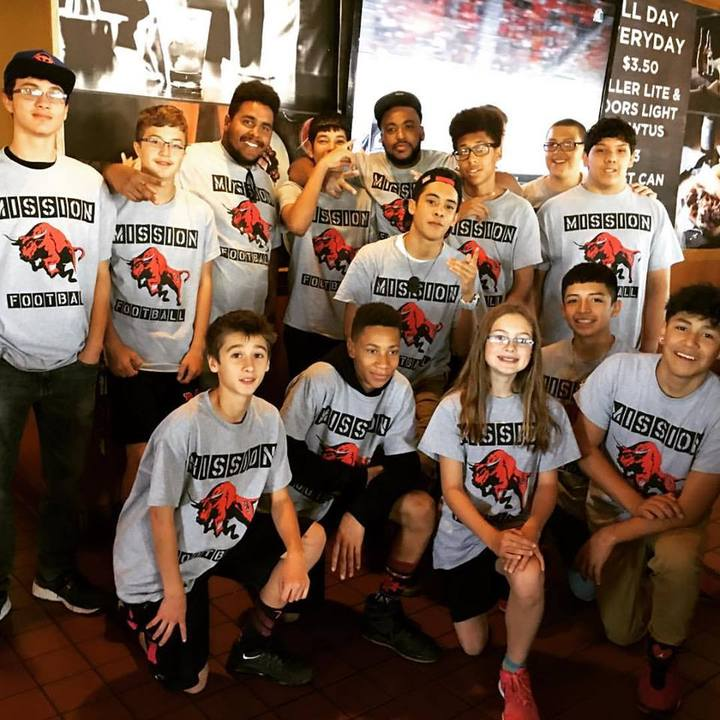 1st Annual Mas Football Pancake Breakfast T-Shirt Photo