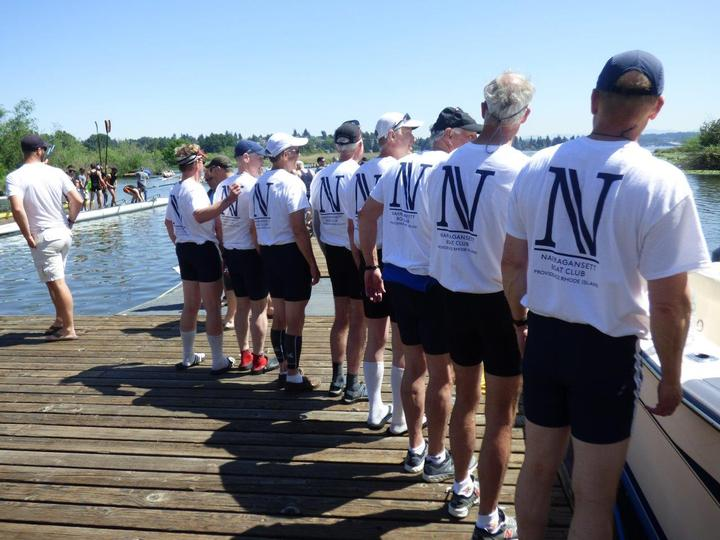 Master's 8 Winners At Windermere Cup Regatta T-Shirt Photo