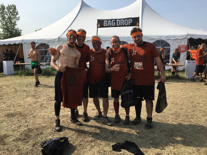 Some Tough Mudders!! T-Shirt Photo