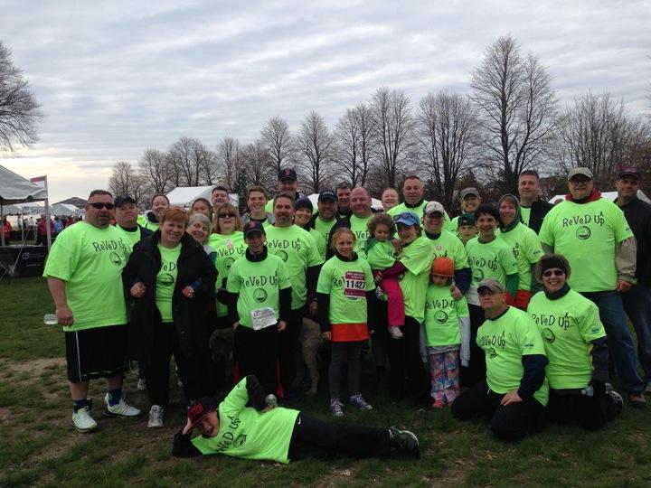 Multiple Myeloma 5 K Walk Team T-Shirt Photo
