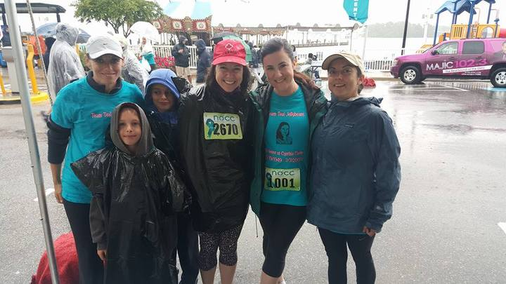 Nat'l Ovarian Cancer Coalition Race, 2016 At Nat'l Harbor T-Shirt Photo