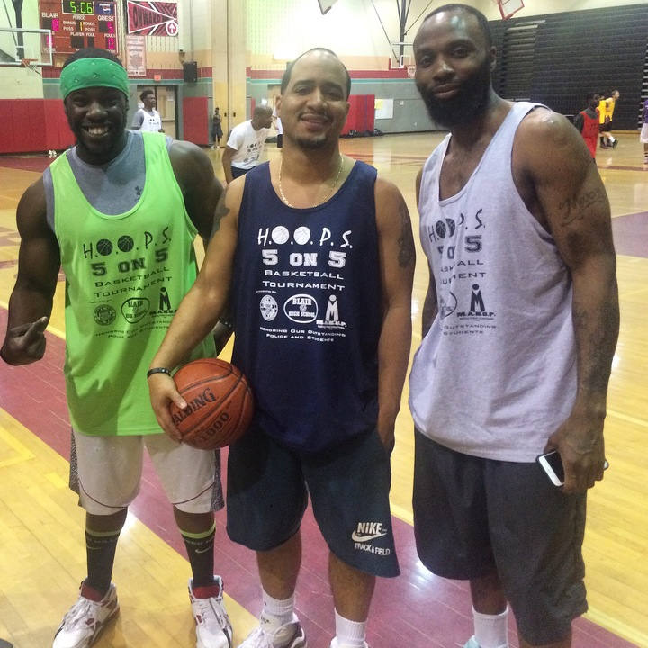 Hoops Ball Tournament (80 Total Players) T-Shirt Photo